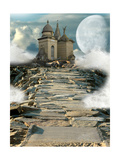 Fantasy Temple Láminas por  justdd