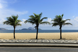 View From The Ipanema Leblon Walkway In Rio De Janeiro, Brazil In A Summer Day Photographic Print by  mangostock