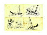 Yachting 1 Prints by  KUCO