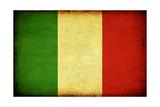 Grunge Italy Flag Print by Boyan Dimitrov
