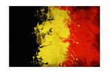 Belgium Flag Posters by igor stevanovic