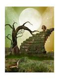 Jardín de fantasía Pósters por  justdd