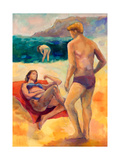 Beach People Prints by Boyan Dimitrov
