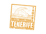 Tenerife Stamp Prints by  radubalint