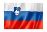 Slovenian Flag Posters by  daboost