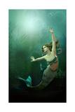 La Petite sirène Reproduction giclée Premium par Atelier Sommerland