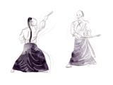 Aikido Art by  KUCO