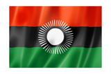 Malawi Flag Posters af daboost