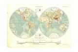 Worldmapjc Posters by Ralph Loesche