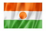Niger Flag Posters af daboost