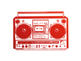 Vintage Boombox Prints by  PixelEmbargo