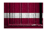 Latvia Flag Prints by  budastock