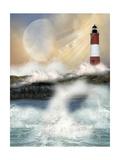 Lighthouse Art by  justdd