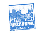Oklahoma Stamp Prints by  radubalint