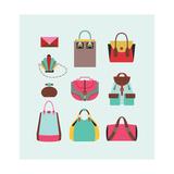 3 Bags Prints by  yemelianova