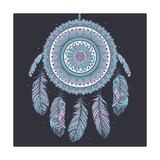 Ethnic Dream Catcher Posters af transiastock