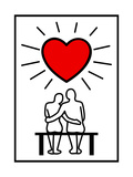 Couples In Love Posters by  Rudall30