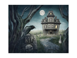 Haunted House Prints by  egal