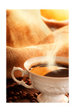 Cup Of Coffee Prints by  mythja