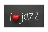 Love Jazz Print by Yury Zap