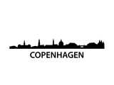 Skyline Kopenhagen Prints by  unkreatives