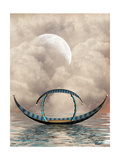 Fantasy Boat Arte por  justdd