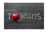 Love Jeans Art by Yury Zap