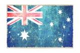 Australia Flag Posters par  duallogic