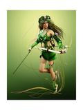 Elven Hunter Poster by Atelier Sommerland