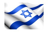 Flag Of Israel Posters by  Yuinai