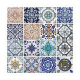 Lisbon Tiles Prints by  boggy