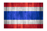Flag Of Thailand Art by Miro Novak