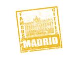 Madrid Stamp Prints by  radubalint