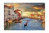 Venetian Sunset Posters by  Maugli-l