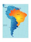 Brasil Pósters por charobna