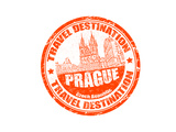 Prague Stamp Prints by  radubalint