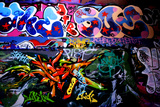 Crazy Graffiti With So Much Colour Photographic Print by  sammyc