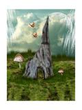 Fairytale House Póster por  justdd