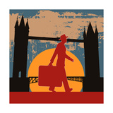 London Break Prints by  Petrafler