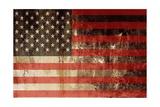 Drapeau américain Affiches par  duallogic