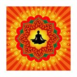 Yoga - Meditation Plakater af  mahesh_patil
