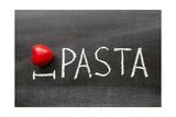 Love Pasta Posters af Yury Zap