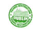 Dublin Stamp Art by  radubalint