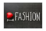 Love Fashion Print by Yury Zap