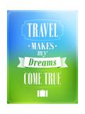 Travel Design Prints by  MiloArt