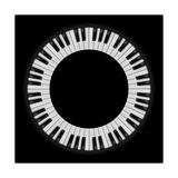 Piano Keys Schilderijen van  dvarg