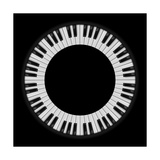 Piano Keys Prints by  dvarg