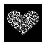 Abstract Heart Prints by  Kumer