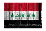 Iraq Flag Prints by  budastock