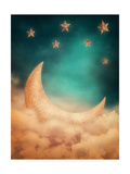 Moon And Stars Posters par  egal